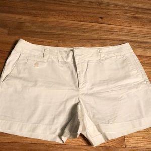 LOFT White Cotton Short